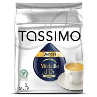Tassimo Jacobs Medaille D'Or, 16 capsule