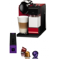 Nespresso Delonghi Lattissima Plus 520R Passion Red