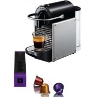 Nespresso DeLonghi Pixie EN125S Silver