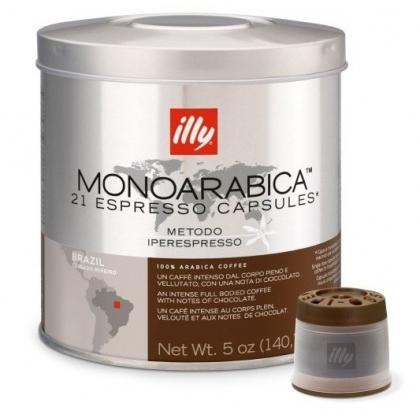illy iperespresso Monoarabica Brazilia