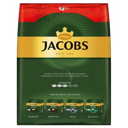 Paduri cafea Jacobs Crema 36 buc