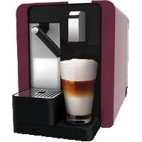 Cremesso Caffe Latte Burgundy Red + 96 de capsule BONUS