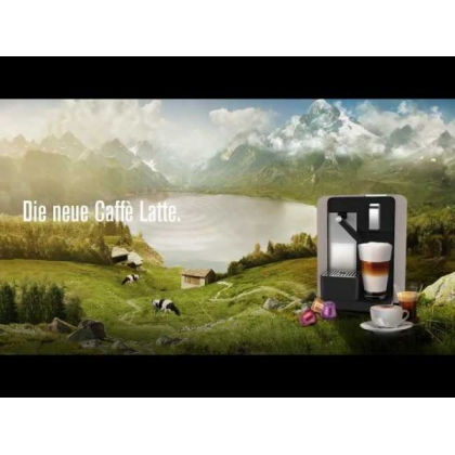 Cremesso Caffe Latte Titan Silver + 96 de capsule BONUS