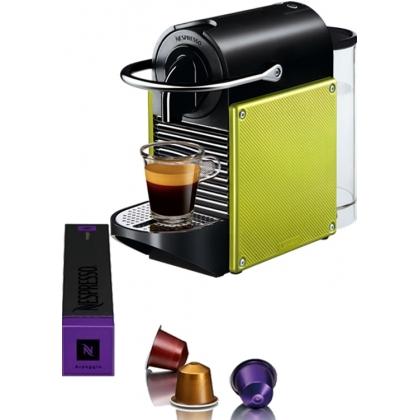 Nespresso DeLonghi Pixie EN125L Lime