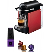 Nespresso DeLonghi Pixie EN125R Red