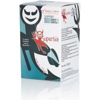Italian Coffee SUPERBIA compatibile A Modo Mio, 16 capsule