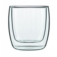 Set 2 pahare sticla Glas Michelangelo 110 ml