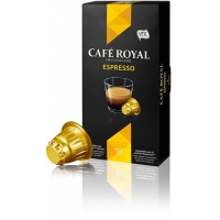 CAFE ROYAL Espresso compatibile Nespresso, 10 capsule