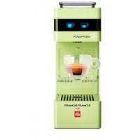 Aparat cafea illy Francis Francis Y3 verde + 114 capsule gratuite