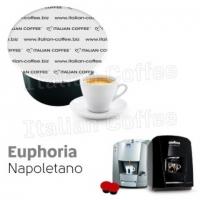 50 Capsule Italian Coffee EUPHORIA compatibile Lavazza Blue