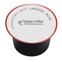 50 Capsule Italian Coffee PASSION compatibile Lavazza Blue