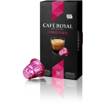 CAFE ROYAL Lungo Forte compatibile Nespresso, 10 capsule