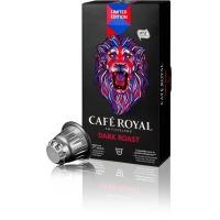 CAFE ROYAL Dark Roast compatibile Nespresso, 10 capsule