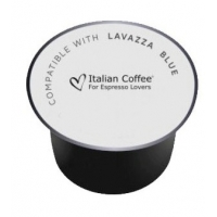 50 Capsule Italian Coffee CREMOSO compatibile Lavazza Blue