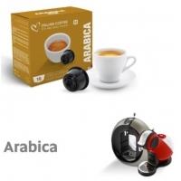 Italian Coffe Arabica compatibile Dolce Gusto 16 capsule