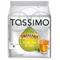 Tassimo Green Tea Mint, 16 capsule
