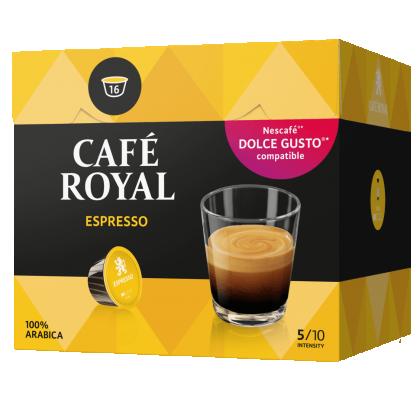 Cafe Royal Espresso compatibile Dolce Gusto