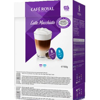 Cafe Royal Latte Macchiato compatibile Dolce Gusto