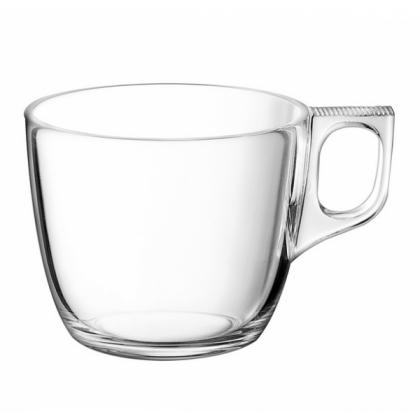 Set 2 cesti espresso lung/cappuccino si farfurii Voluto, 220ml