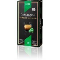 CAFE ROYAL Espresso Macchiato compatibile Nespresso, 10 capsule