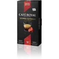 CAFE ROYAL Doppio Espresso compatibile Nespresso, 10 capsule