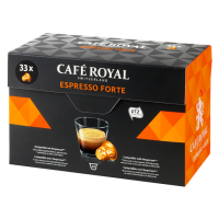 CAFE ROYAL Espresso Forte compatibile Nespresso, 33 capsule