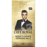CAFE ROYAL Agent's Choice Espresso - compatibile Nespresso, 10 capsule
