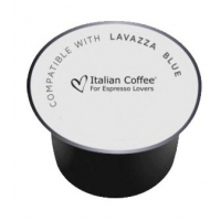 50 Capsule Italian Coffee EQUILIBRATO compatibile Lavazza Blue