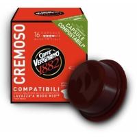 Caffe Vergnano Cremoso compatibile A Modo Mio, 16 capsule