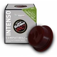 Caffe Vergnano Intenso compatibile A Modo Mio, 16 capsule