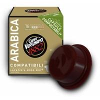 Caffe Vergnano Arabica compatibile A Modo Mio, 16 capsule