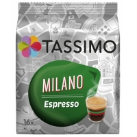 Tassimo Milano Espresso, 16 capsule