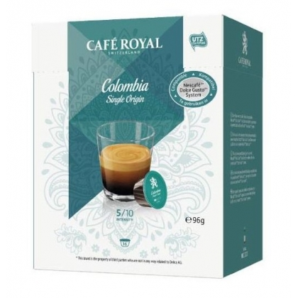 Cafe Royal Colombia Single Origin compatibile Dolce Gusto