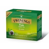 TWININGS Pure Green ceai compatibile Nespresso