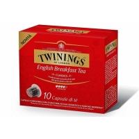 TWININGS English Breakfast ceai compatibile Nespresso