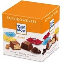 Cuburi de ciocolata Ritter Sport Mousse&Amarettini