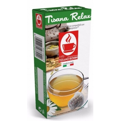 Caffe Bonini Tisana Relax compatibile Nespresso