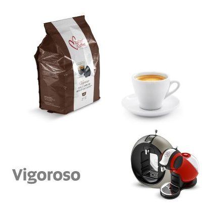 Italian Coffee Vigoroso capsule compatibile Dolce Gusto 16 buc