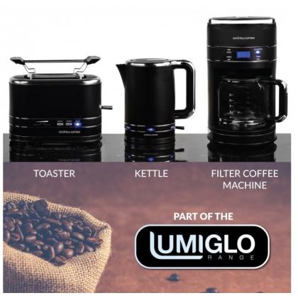 Cafetiera programabila Andrew James Lumiglo