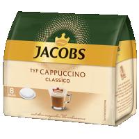 Paduri Jacobs Cappuccino 8 buc