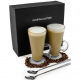 Set 2 pahare Latte Machiatto Andrew James 320ml