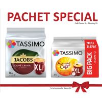 Pachet Promo - Cafe Crema Xl, Morning Xl