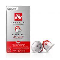 ILLY Classico Roast compatibile Nespresso, 10 capsule