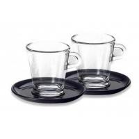 Set 2 cesti sticla espresso lungo